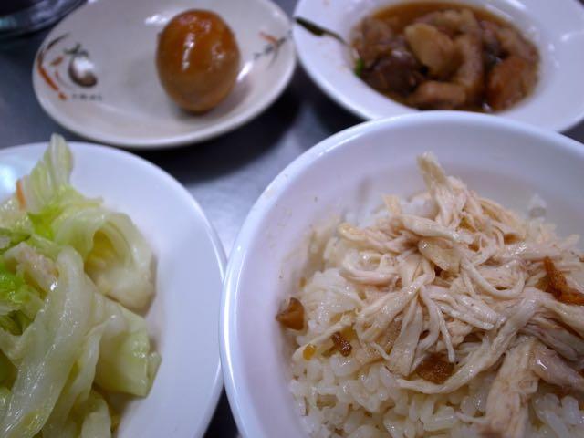 嘉義鶏肉飯 3