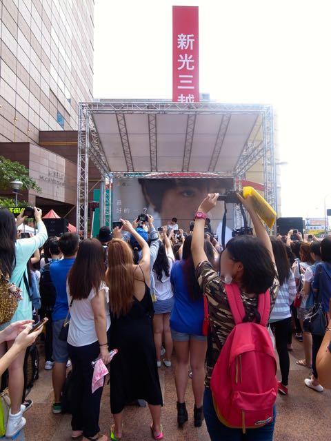 台湾 新曲発表会 1