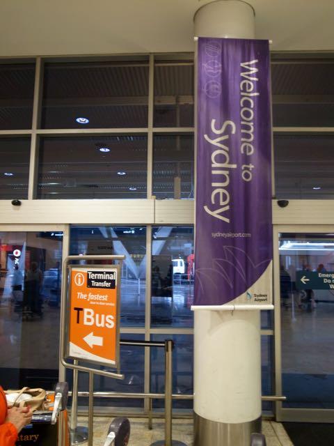 シドニー空港 - 1