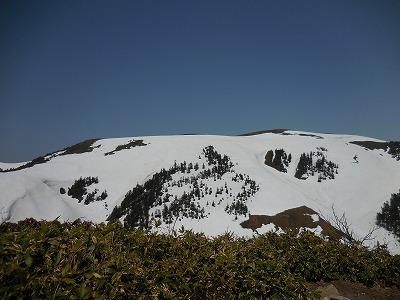 02ニセ巻機から臨む山頂