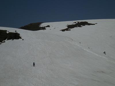 03山頂への登り