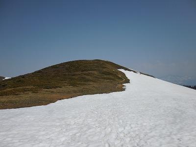 04山頂稜線