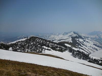 05谷川岳へ続く稜線
