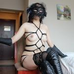 女子大生の緊縛ヌード画像