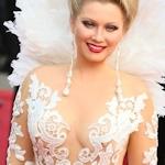 ロシアセレブ Elena Lenina(エレナ・レニーナ) カンヌレッドカーペットに乳首スケドレスで登場