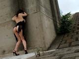 日本女性 露出ヌード画像 8