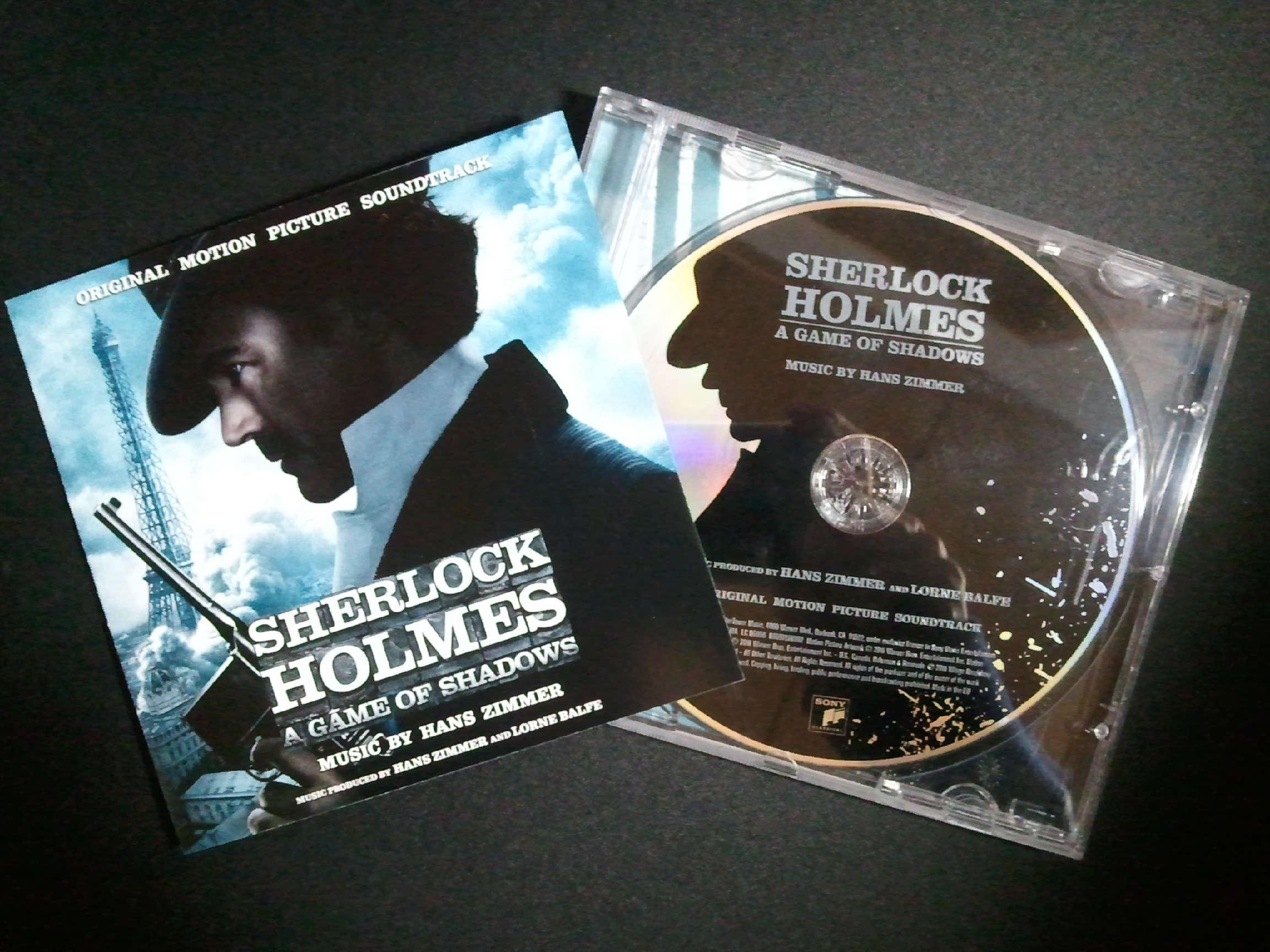 Hans Zimmer Sherlock Holmes A Game of Shadows