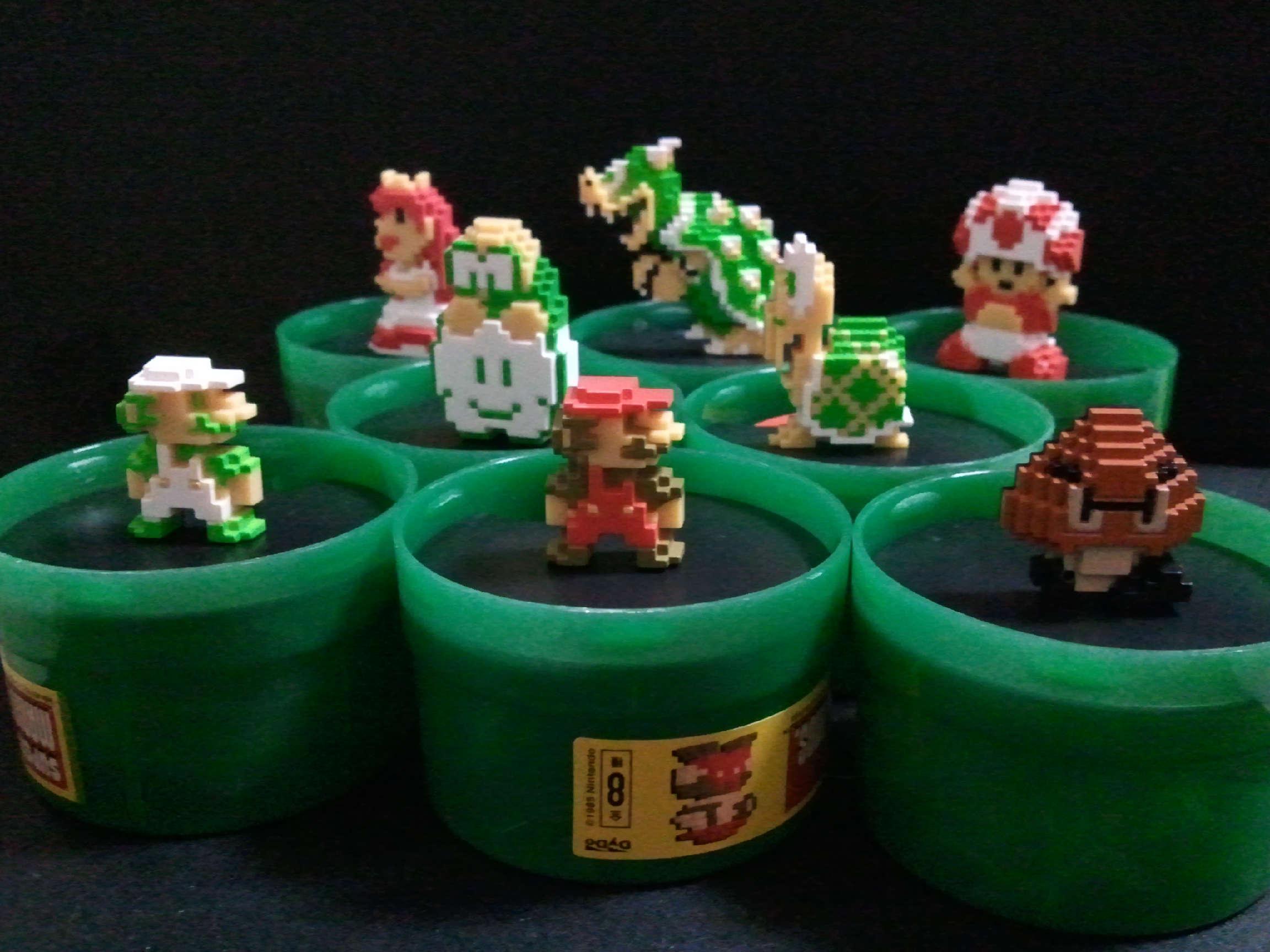 DyDo缶コーヒー × スーパーマリオブラザーズ8種全部