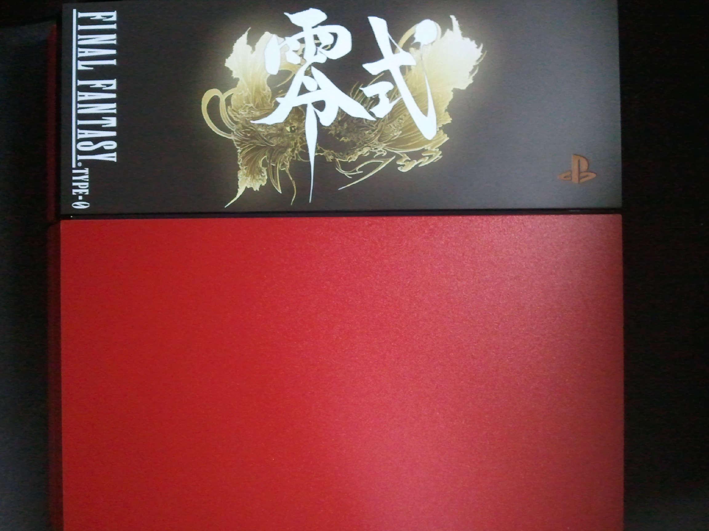 FF零式同梱版PS4本体