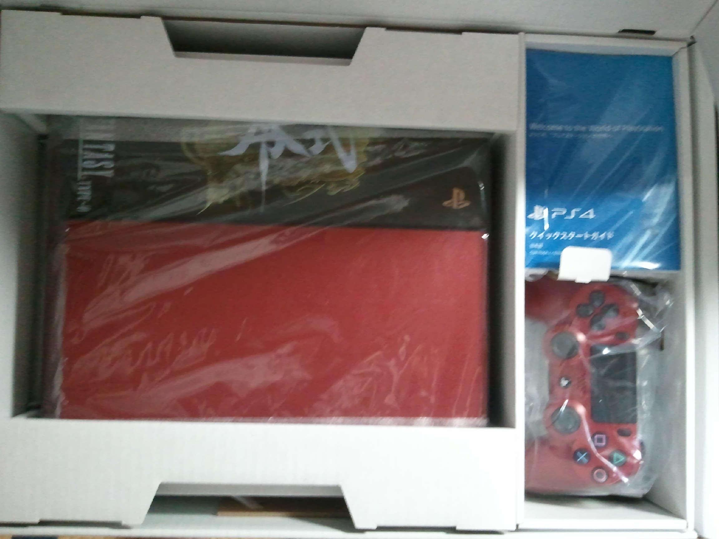 FF零式同梱版PS4中身