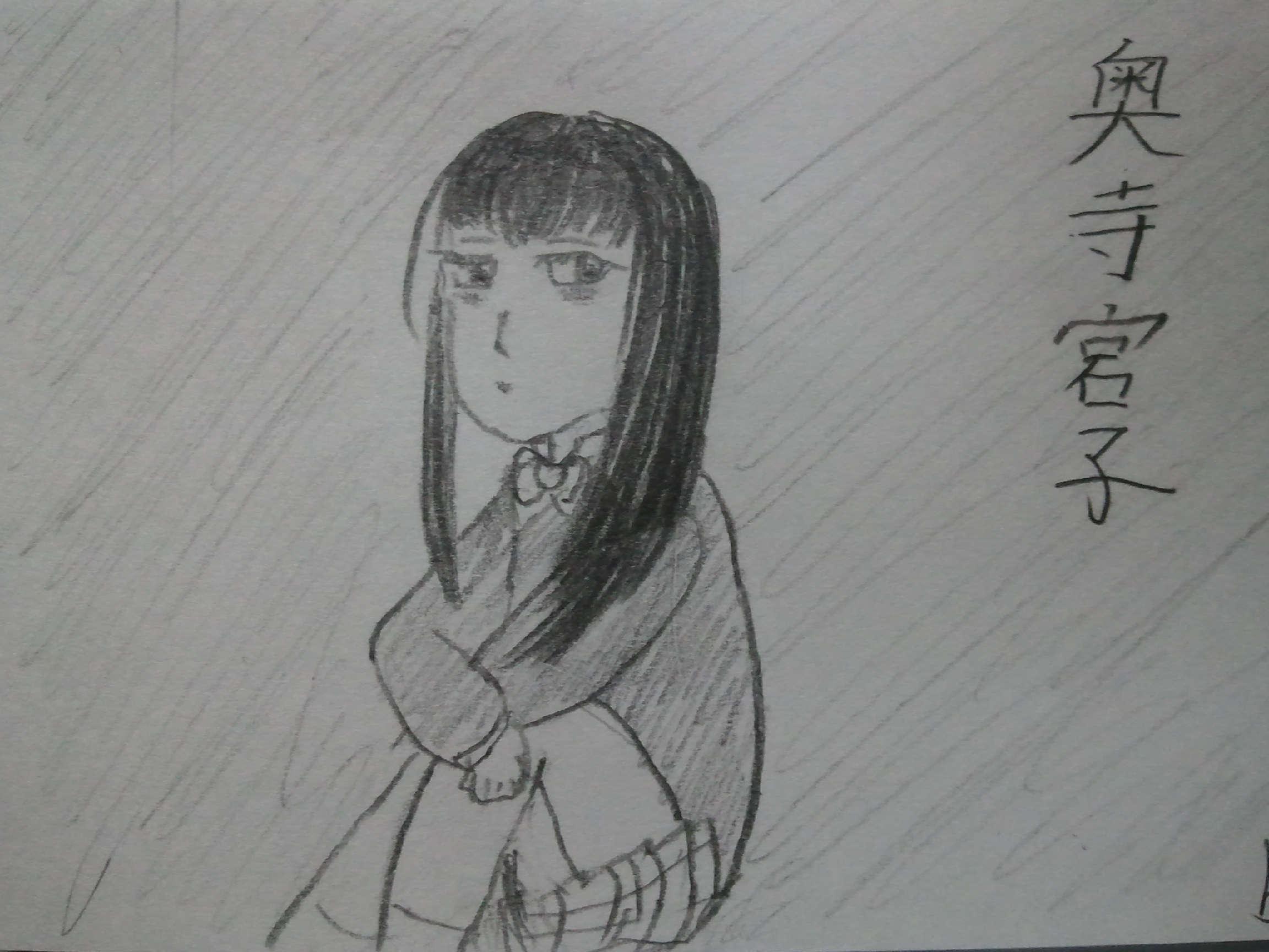 メインキャラのコンセプトアート