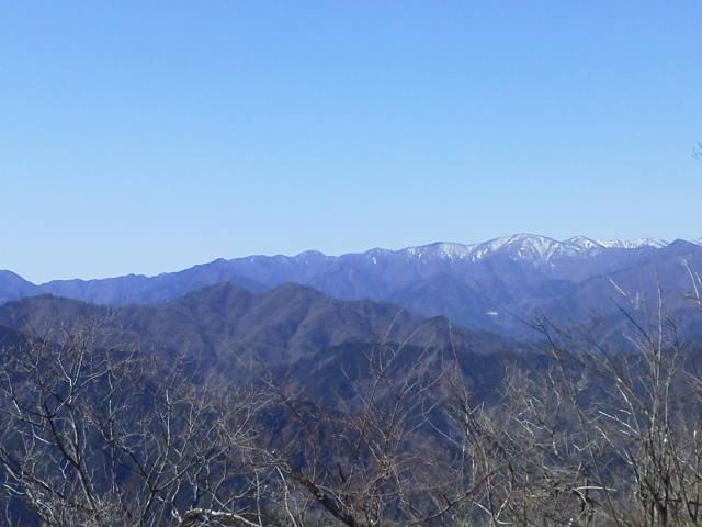 経ヶ岳山頂景色
