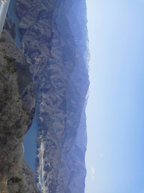仏果山山頂景色