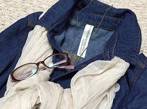 濃青デニムシャツが好きすぎる件