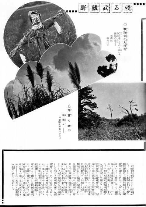 殘る武蔵野(その2)1933jul