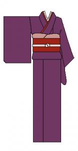 とし子さんの着物