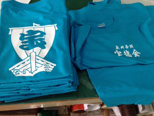 踊り子Tシャツ1