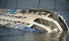 客船転覆事故