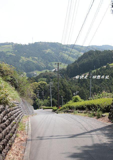 中山峠 下り坂