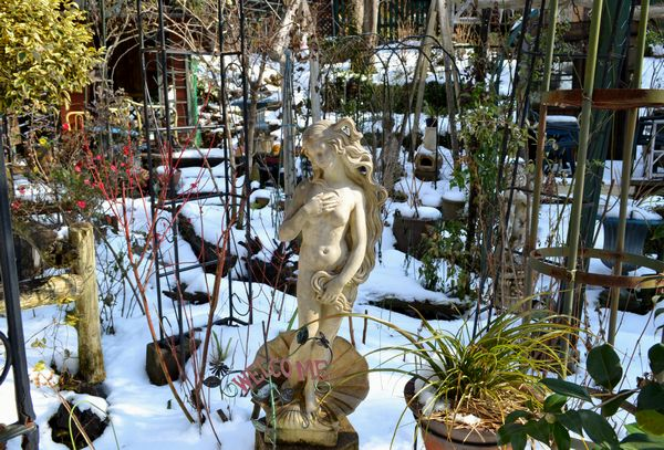 1,3雪の庭ー5