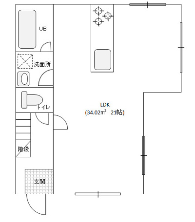 旧家間取り図