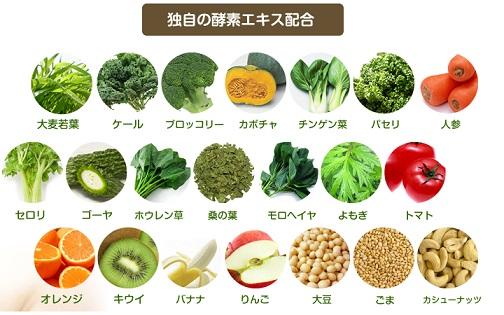 ビタミン酵素補給