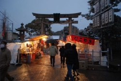 150101-2高濱神社 雪1