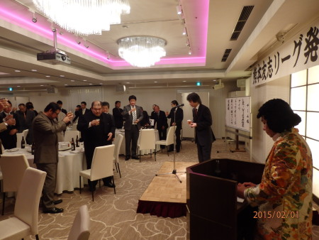 P2011219乾杯の音頭 熊本シティリーグ代表・会長平木様