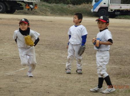 P2151499キッズ野球もキャンプイン