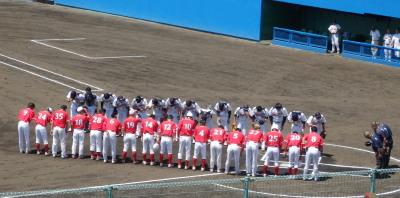 P5213150一塁側熊本主幹 三塁側佐賀主幹