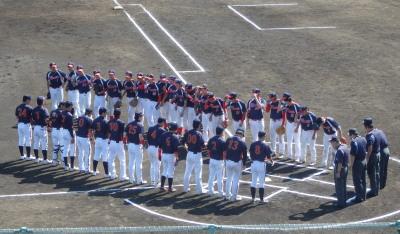 P5213266一塁側福岡主幹 三塁側熊本主幹