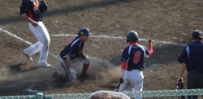 P5213314福岡7回裏1死二、三塁から暴投で1対1の同点