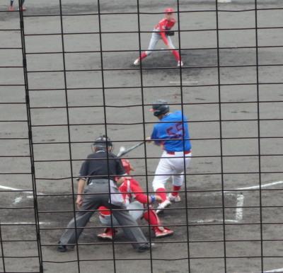 P61739644回表佐川B無死二、三塁から4番が2点右前打を放つ