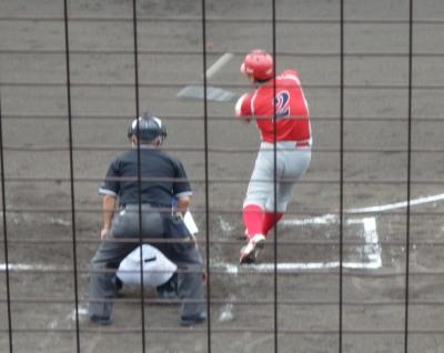 P62240892回表トウヤ2死三塁から4番が右翼線二塁打を放ち、この回6点目