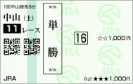 ショウナンアポロン 2着(単勝)