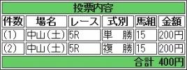 20150314 トーセンカナロア