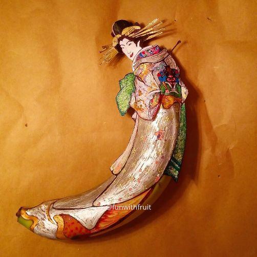 バナナアート07