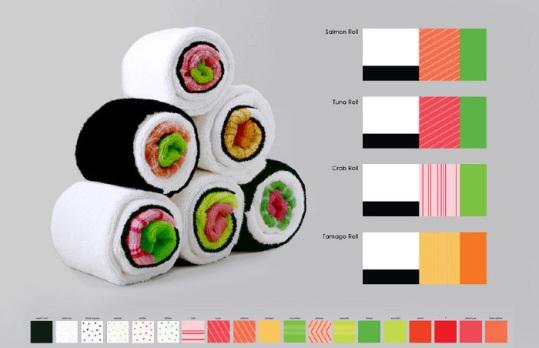 寿司タオル01