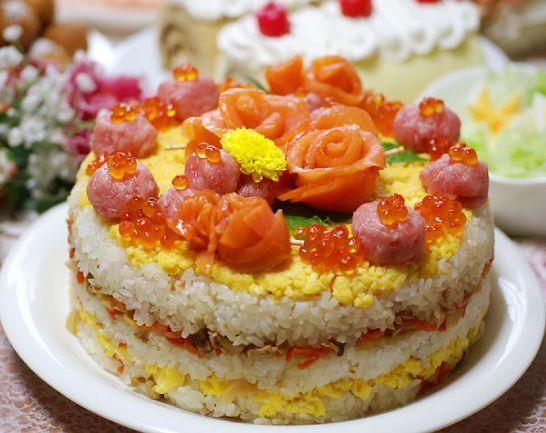 寿司ケーキ01