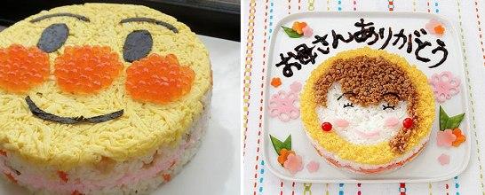 寿司ケーキ02