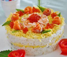 寿司ケーキ04