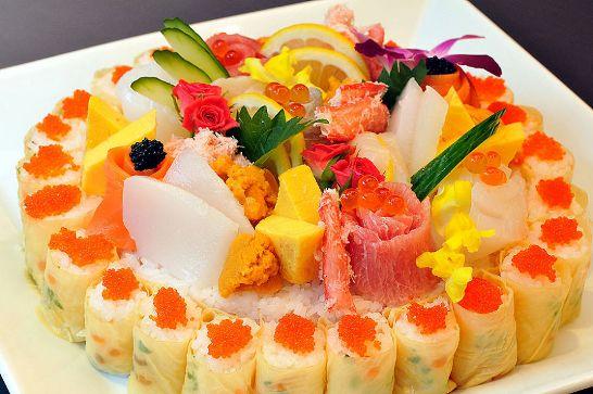寿司ケーキ06