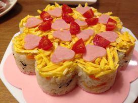 寿司ケーキ08