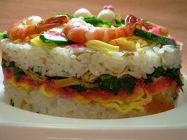 寿司ケーキ10
