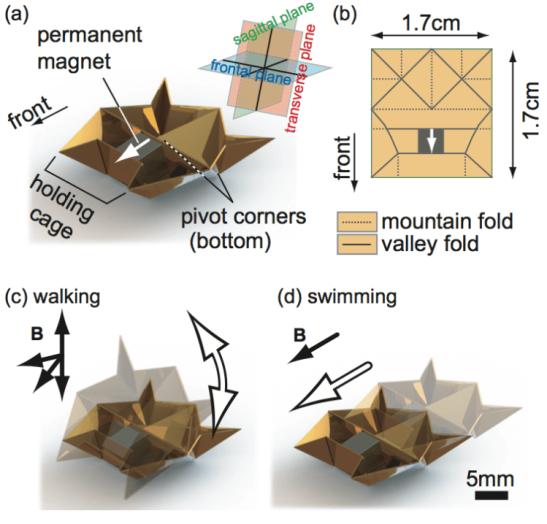 折り紙ロボット01