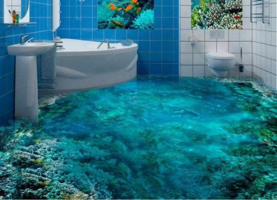 3D浴室床