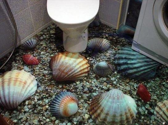 3D浴室床01