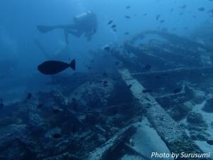 オランゴ島の沈船