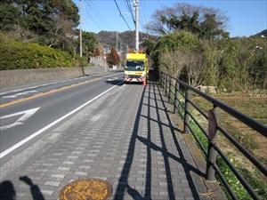 歩道整備(滝の坂)
