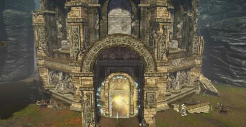 バーントタワー入口